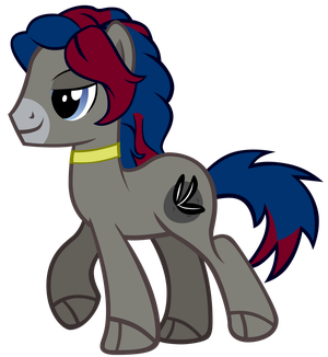 MrMaclicious95 - Raven Earth Pony by JaegerPony