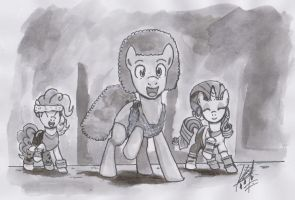 [Ponified] Gymnastics with Richard Simmons by digiral