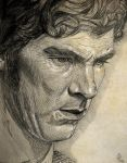 Mister Cumberbatch - Mechanical pencil by Bilou020285