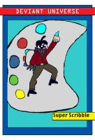 DU Challenge-Super Scribble Card by Urvy1A