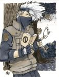 Kakashi and team 7: Copic Marker by ComfortLove