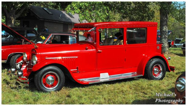 A Red 1924 Hudson by TheMan268