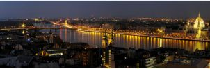 Budapest Panorama 2 by bandesz99