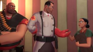medic meets miss pauling by qatarz