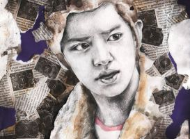 ChanYeol, EXO-K by AlmightyCrow
