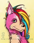 Shezka - Rainbow Head by sarroora