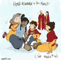 Tenzin's Family by laurbits