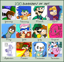 2010 summary by Nintendrawer