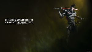 METAL GEAR RISING: SAMUEL RODRIGUES by LSPGFX