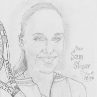 Sam Stosur by nev777
