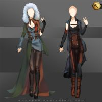 [Closed]Adoptable Outfit (post-apocalyptic1-2) by Anneysa