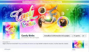 Facebook page by CandyBiebs