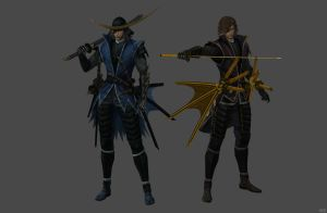 'Sengoku Basara 3' Date Masamune 2.0 XPS ONLY!!! by lezisell