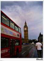 A normal day in London town by florpurpura