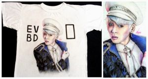 T-shirt drawing ~ Jonghyun ''Everybody'' by AngieKrasiva