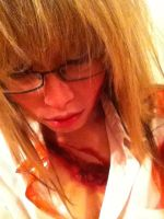 does this look infected? by momo-ranja