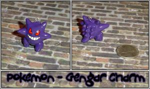 Pokemon - Gengar Charm by YellerCrakka