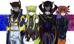 Code Geass Furry by BenjiPrice