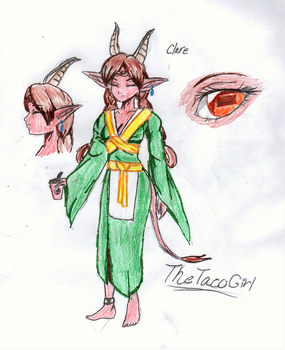 Clare the Magnicore by TheTacoGirl