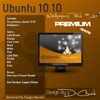 Ubuntu 10.10 Wallpapers Pack 1 by DrCrunk