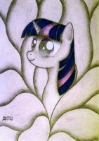 Twilight Sparkle portrait by Ponystarpony