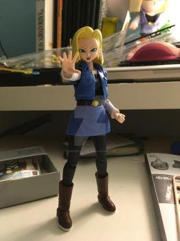 Android 18 finished model. by gamemaster8910