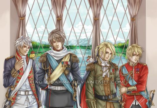 APH: Empires and Kingdoms by xiaoyugaara