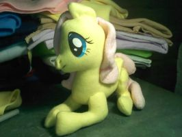 Large Fluttershy Plush by russkyguy1917