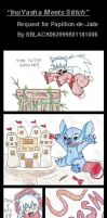 Request: InuYasha Meets Stitch by commonshade22