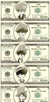 SHINee dollars by Pulimcartoon