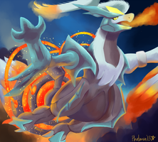 White Kyurem by Phatmon