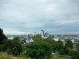 Gloomy Seattle by kwuus
