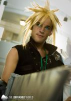 Cloud Strife at Otakon 2011 by AndrewMarston