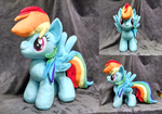 Rainbow Dash by Bakufoon