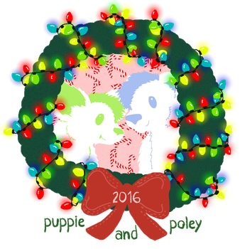 Merry Christmas 2016 by PuppieandPoley