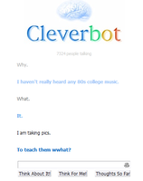 Why is cleverbot so dumb? by TheIndianaCrew