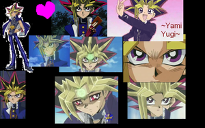 Yami Yugi Atem Wallpaper- by Vampiress-Stocking