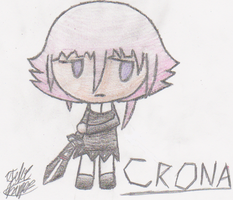 Young Crona Drawing by Cobalt-Ace