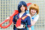 Ryuko, Senketsu isn't your only friend! by Distorted-Echo