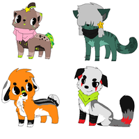 More shity adopts. by VisiaVi