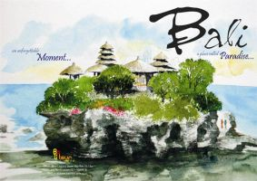 Bali:a place called Heaven by kn33cow