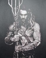 Aquaman by Papergizmo