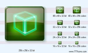 Cube Icon by dedumber