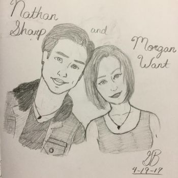 Nate and Morgan  by Innocent-Maze
