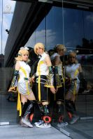 kagamine rin appen cosplay by sanchanclau