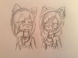 WIP - KittyxBlizz by Little-drawing-Girl