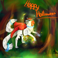 Little Red Wolf (Halloween SS) by LittleChiChi