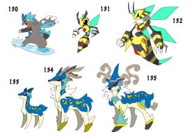 monster pack 17 by ObsidianWolf7