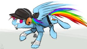 Rainbow Dash Scout by Scoot0i0i08