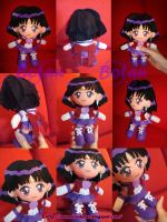 chibi Sailor Saturn plush ver. by Momoiro-Botan